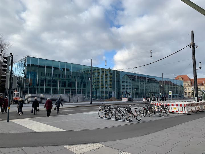 The new museum (opening 09 2019)