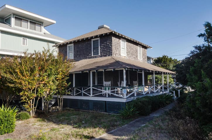 Parsley-Revel in vintage beach cottage charm at the south end of the beach