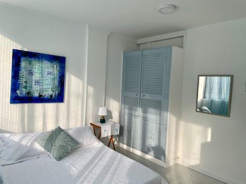 Excelente apartamento a solo 5 min. de la playa!