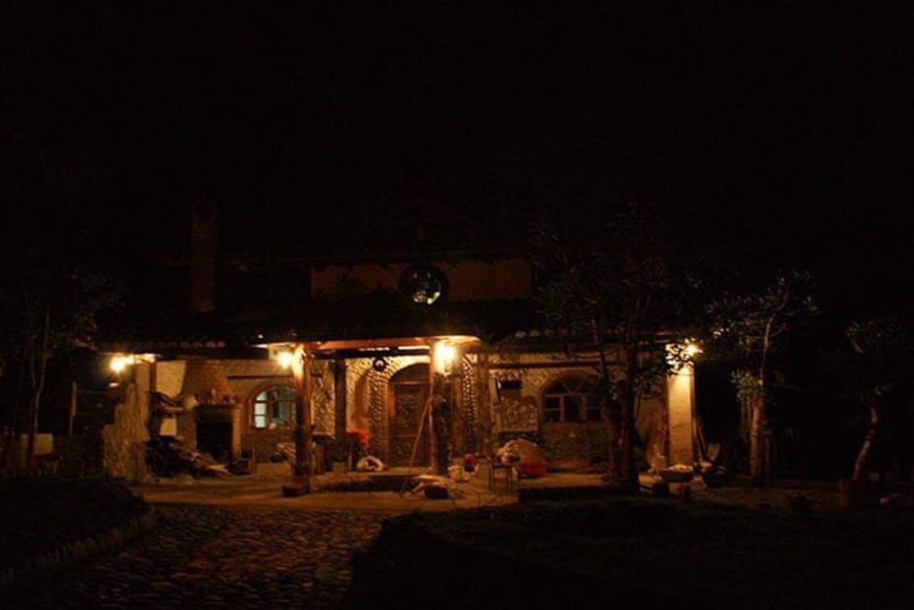 Casa ceremonia noche