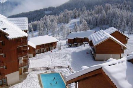 Chalet Duplex 50m2 au pied des pistes - Puy-Saint-Vincent - Hytte (i sveitsisk stil)