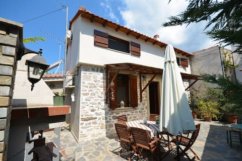 Two-storey house with loft at Agria,Volos
