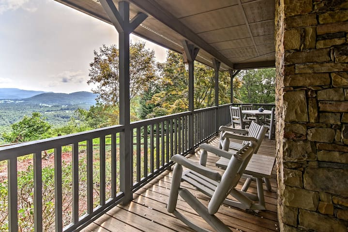 Relax with a view on your private wraparound porch!