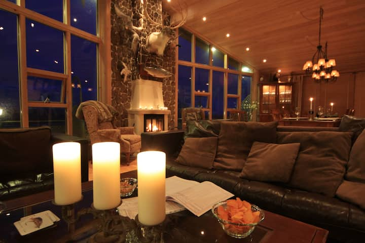 Luxury Eyjar Lodge, east Iceland