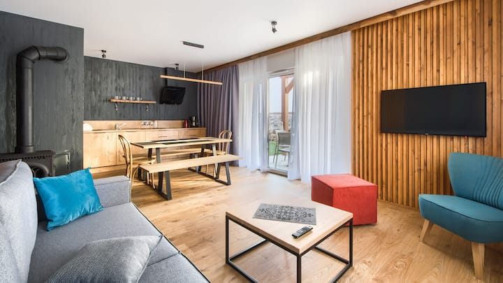 Domki Sarnia 8 Apartament B Deluxe dla 5 osób