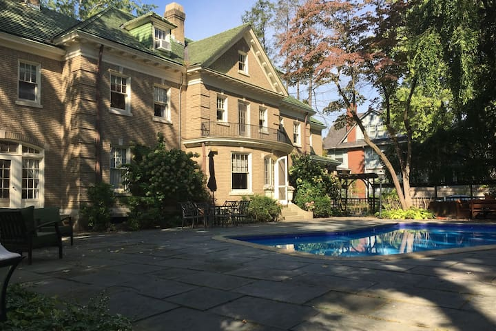 Historical west end home with pool