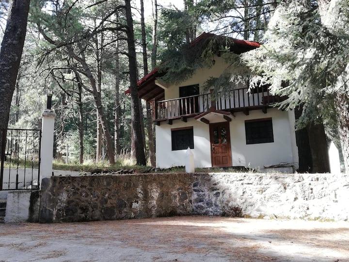Eco-Cabaña im Naturpark Iztaccihuatl/Popocatepetl