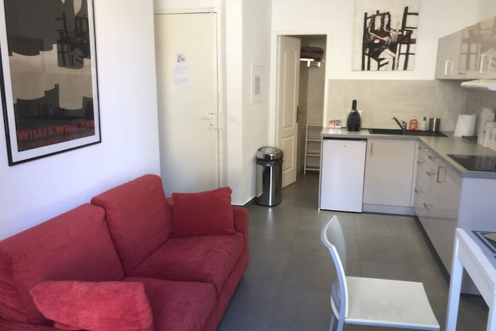 AUTHENTIC APARTMENT NEAR CROISETTE IN CANNES FOR 2 PEOPLE.