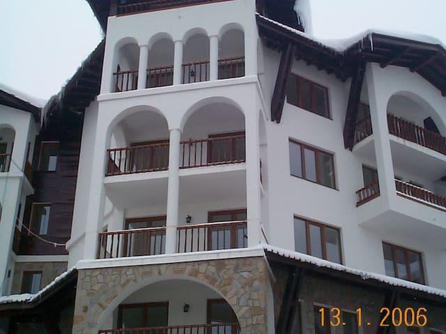 Ski in/ski out.  Monastery 3, Pamporovo