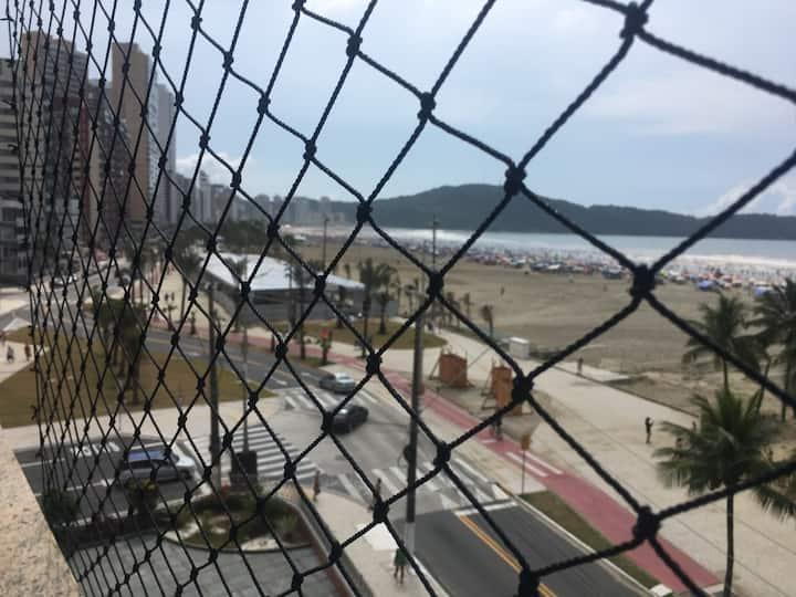 Apartamento Frente ao Mar Praia Grande Guilhermina