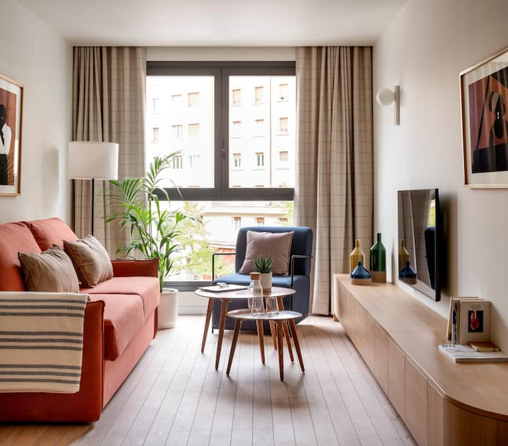Líbere -Apartamento céntrico 1 dormitorio exterior
