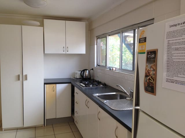 Fully equipped kitchen for all your cooking requirements.