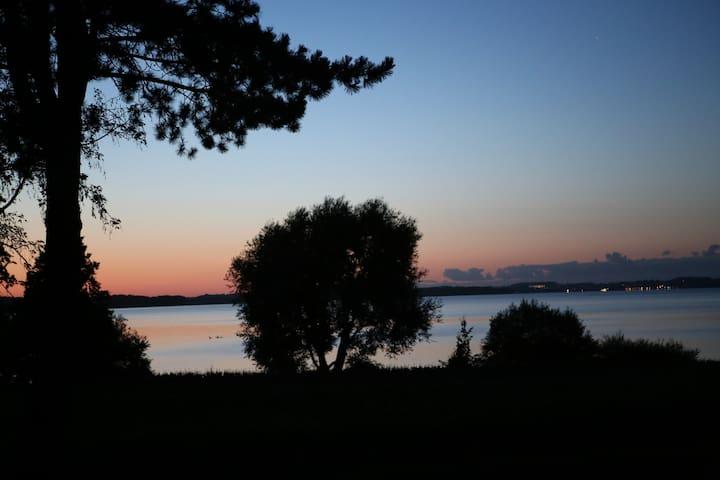 Ferienwohnung Les pieds dans l'eau - Nehmten - Flat