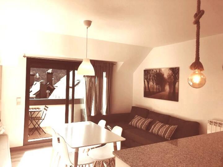 Duplex acogedor con wifi &terraza&parquing HUT5049