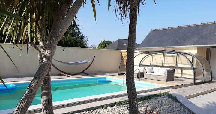 Location appartement avec terrasse et piscine