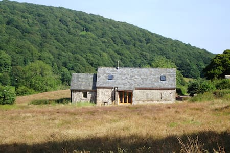 Beautiful 18th century barn on Sugar Loaf mountain - Monmouthshire - Rumah