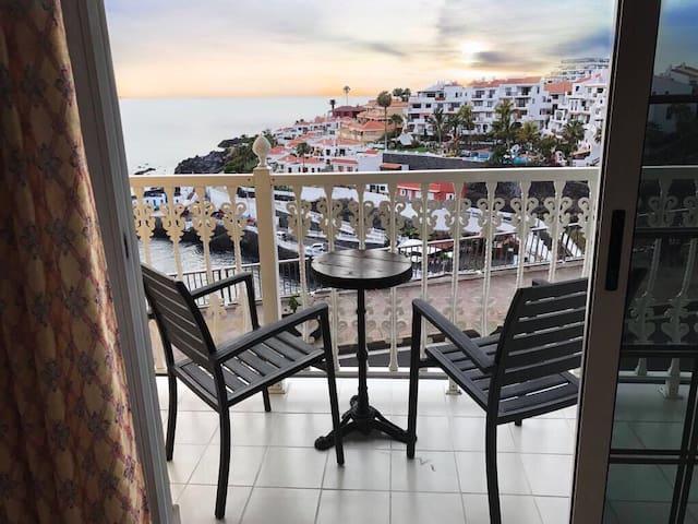 Apartamento con espectaculares vistas al mar - Santiago del Teide - Apartment