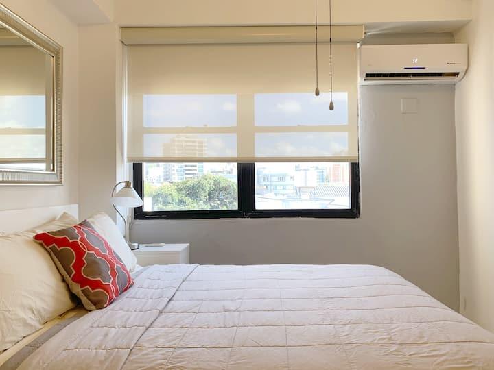 Condado Beach, Bright 1 bedroom, 1 bathroom
