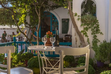 Pension Marias DBL Room Garden View - Mykonos