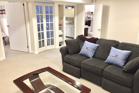 Pristine, 2 Bedroom Guest Suite. Great location!