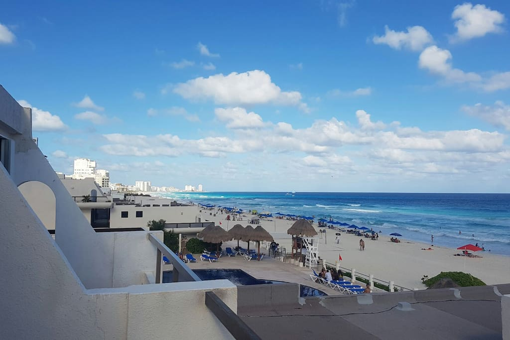 preciosa Vista de la Zona Hotelera