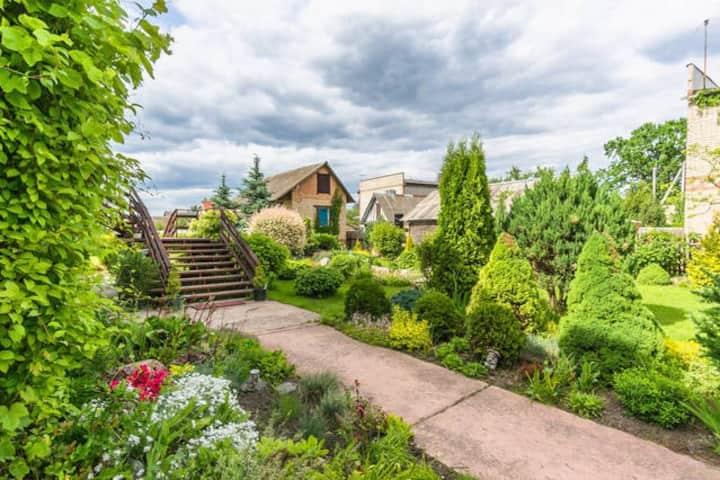Уютные комнаты в доме с садом (5 км.от Минска)