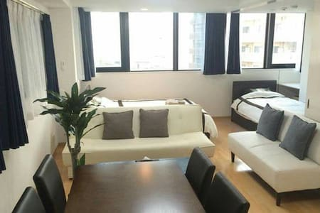 [1min from sta.] Free WiFi, Nice view cozy apt - Naniwa Ward, Osaka - Lejlighed