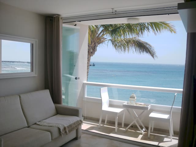 Gran Canaria, rent, first line, great sea views! - Arinaga - Apartamento