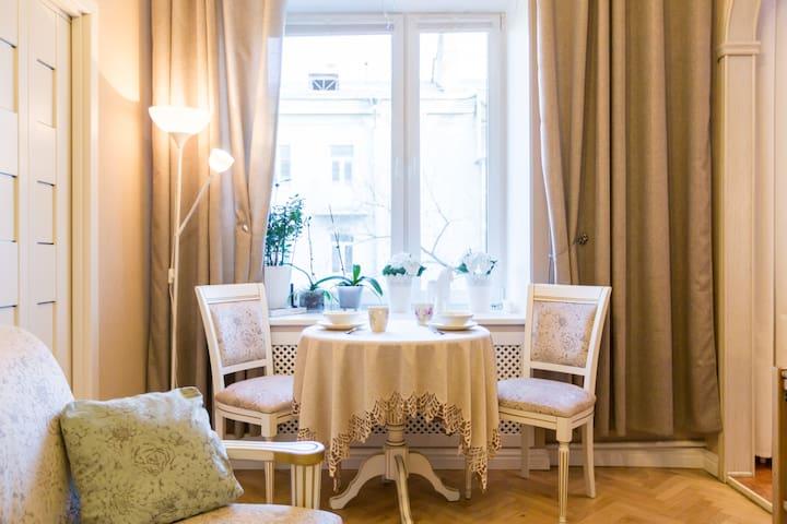 3room flat close to Luzhniki, 4km from the Kremlin