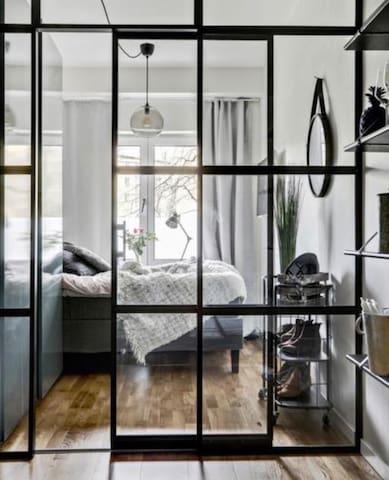 Supermodern lägenhet i centrala Göteborg