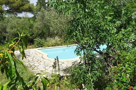 Studio Charme Terrasse Confort avec Piscine Jardin - Villa