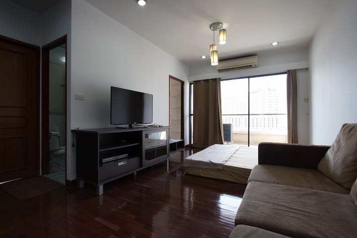 Newly OPEN! 2Bedroom Next To Platinum Fashion Mall - Bangkok - Apto. en complejo residencial