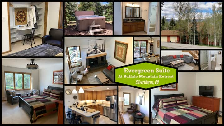 BMR - Evergreen Suite - 1bd+ (private space)