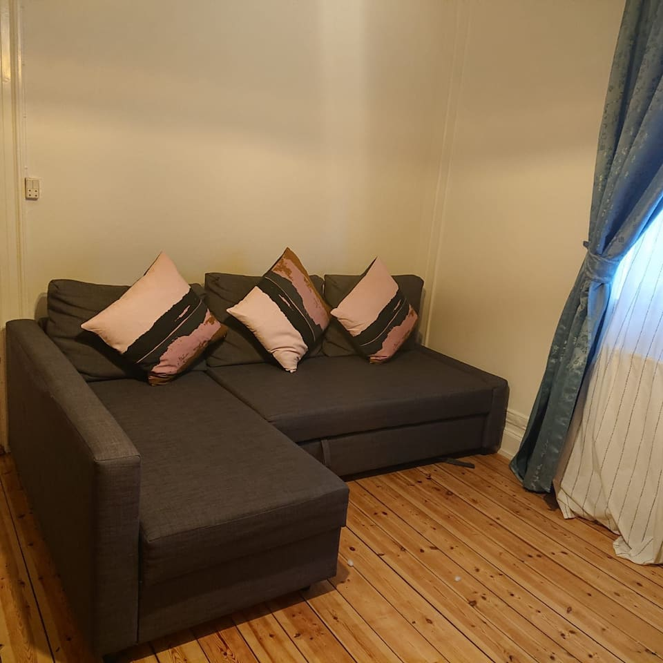 Living room with sofa bed for 2 persons