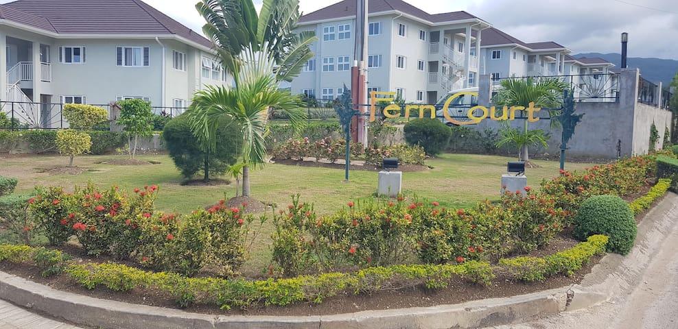 Fern Court  Carribean Sea View