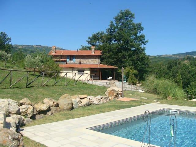 Villa Il Poderino - Santa Fiora - Doğa içinde pansiyon