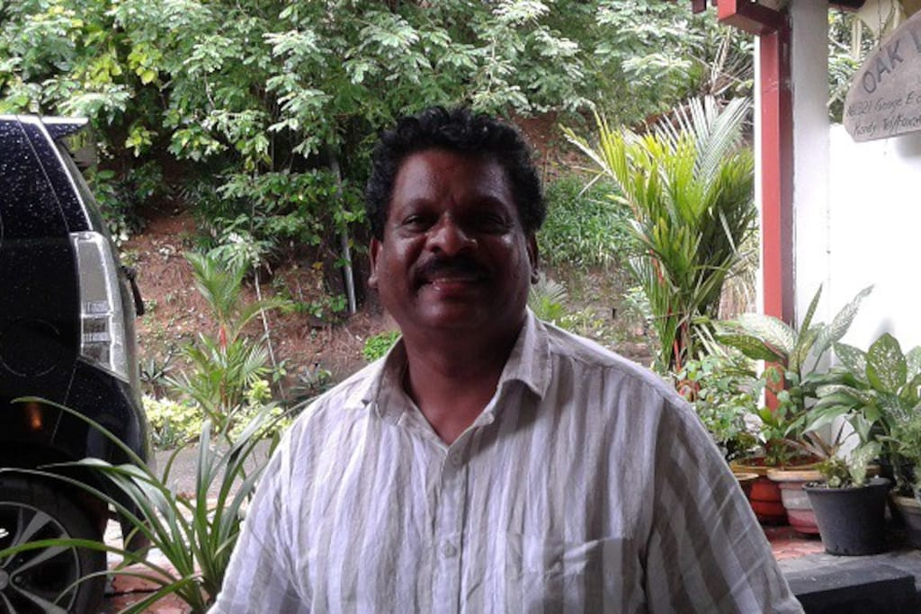 meet Mohan the owner