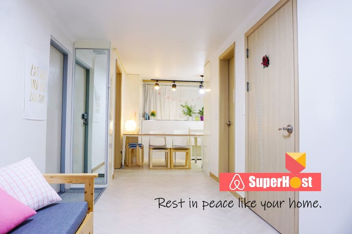 [2Br, Hongdae Exit 9] Rest in peace like your home