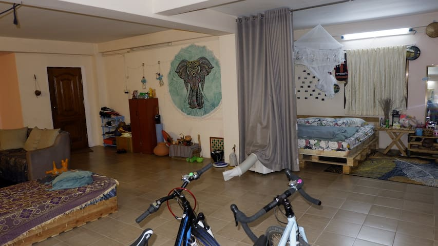 Homestay room in Sanchaung