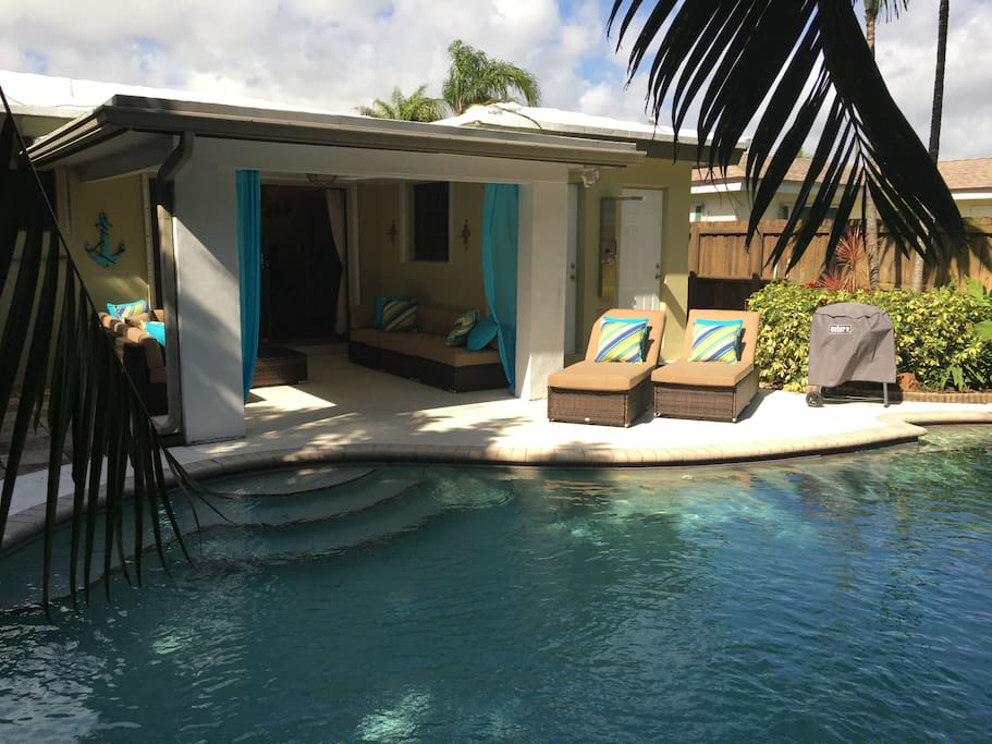 Private Cozy Pool Home 2 Bd 1 Bath Houses For Rent In Fort Lauderdale Flor