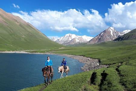 "Kol Ukok lake ""Altynbek yurt camp """