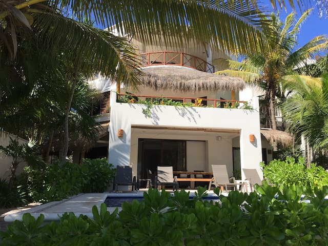 elegant, comfortable beach villa - Tulum - Vila