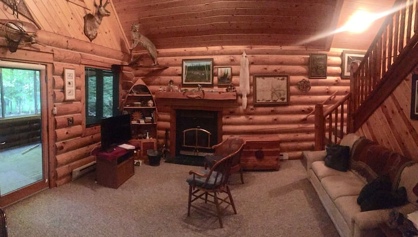 Rainbow Jim's Legacy Cabin on Big Manistee River!