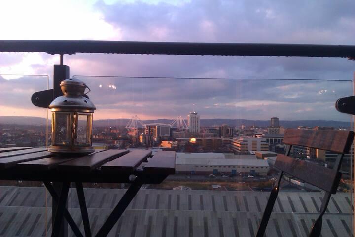 CityView Apartment - Cardiff - Apartamento