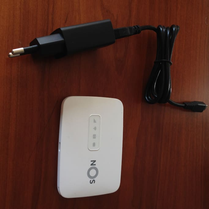 4G MOBILE WIFI, with unlimited data traffic. FREE of CHARGE