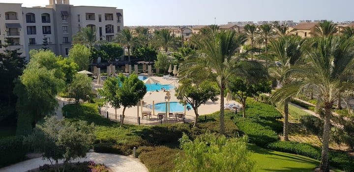 Marassi 2BR with best view