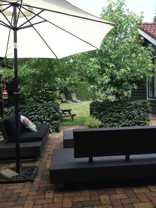 Heerlijke grote tuin