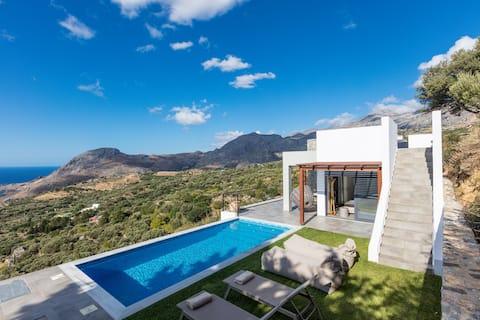 Villa Sea-Esta with breathtaking Sea view.