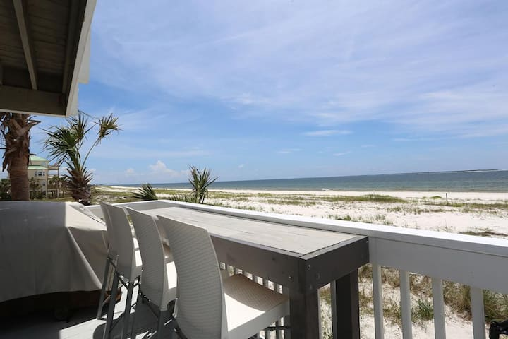Gulf Front, St Joe Beach, 5 Bedrooms, Secluded ~ Chateau Seaclusion