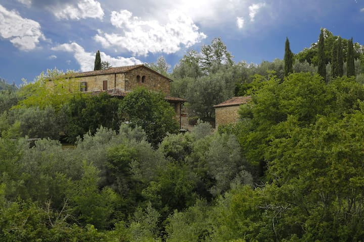Le Logge - Yellow, sleeps 2 guests - Pergine Valdarno - Lägenhet